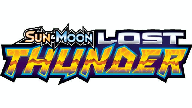 Sun & Moon - Lost Thunder logo