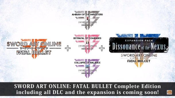 Sword Art Online: Fatal Bullet | Complete Edition Contents