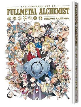 Full Metal Alchemist Art Book Via Viz Media