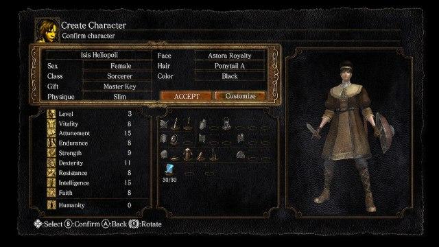 Dark Souls Remastered | Sorcerer