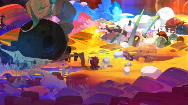 Pyre | Backgrounds