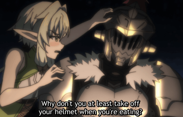 Goblin Slayer's Helmet
