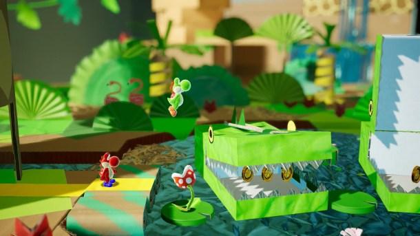 Yoshi's Crafted World | Nintendo