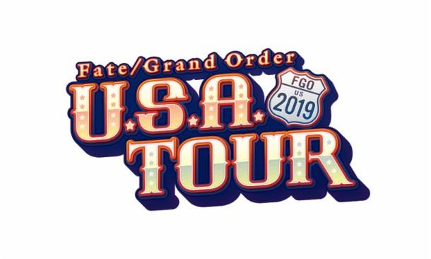 Fate/Grand Order | U.S.A. Tour 2019 Logo