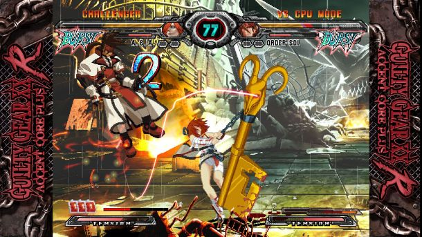 Guilty Gear 20th Anniversary Edition | Order-Sol and A.B.A