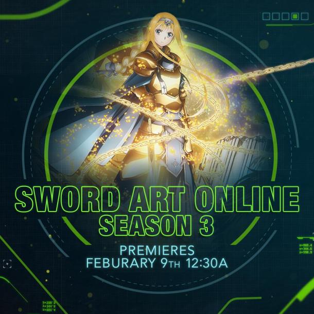 Sword Art Online: Alicization | Toonami