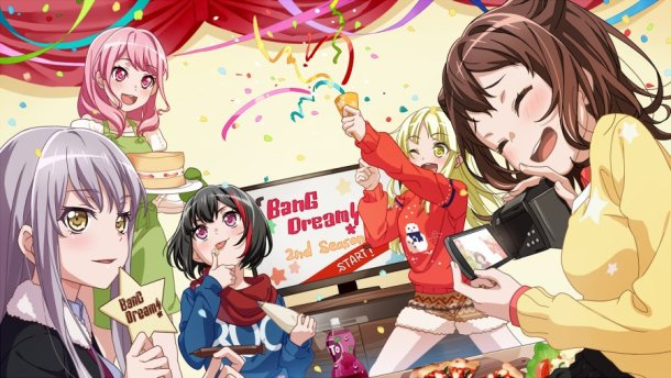 BanG Dream! | Anime 2nd Season Celebration