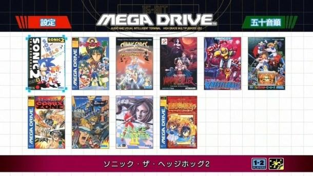 Mega Drive Mini | Japan Lineup