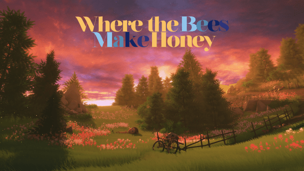 Where the bees make honey | Logo