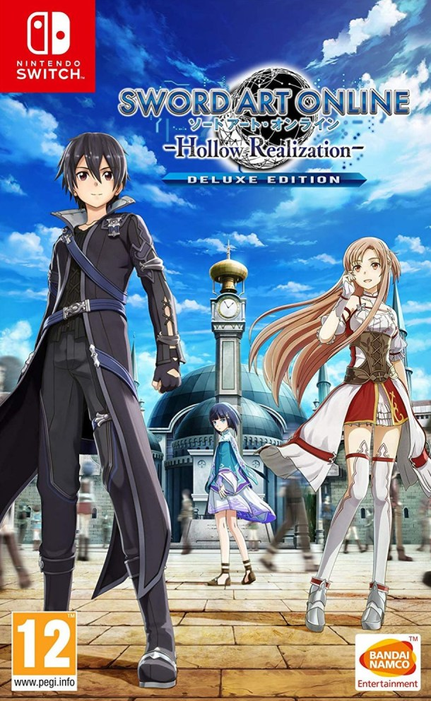 Sword Art Online: Hollow Realization   EU Switch Cover
