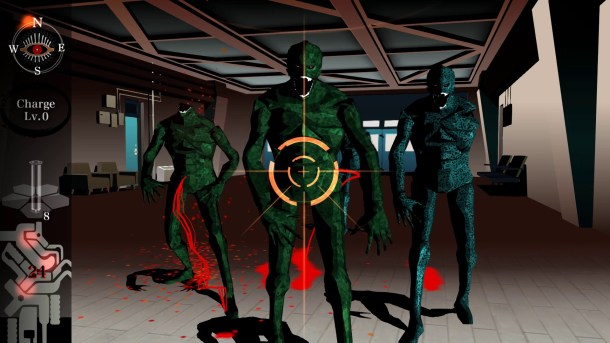 Killer7 - Lots of enemies