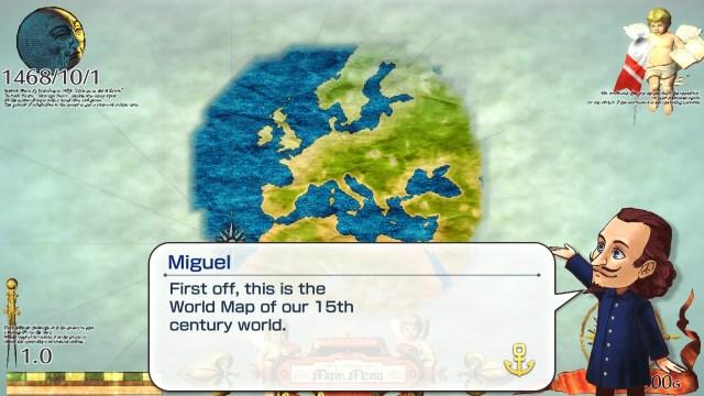 Neo Atlas 1469 | Initial Map