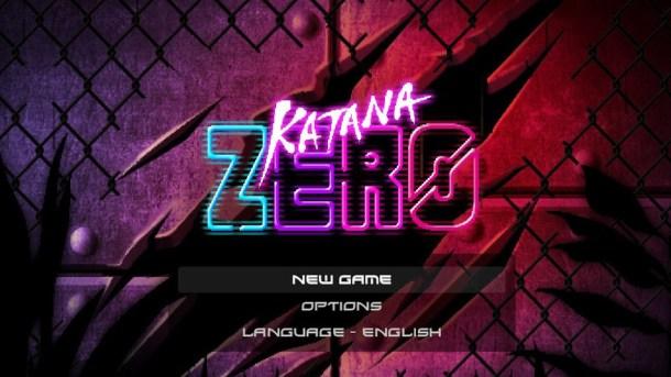 Katana Zero Title