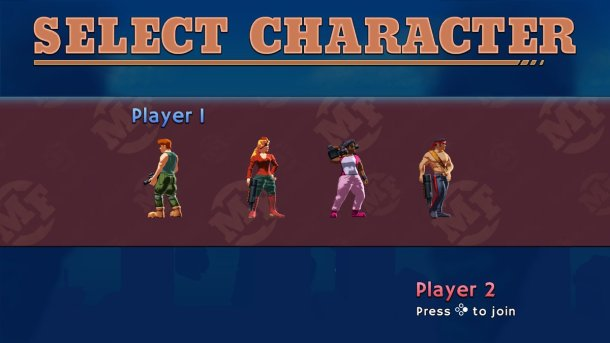 Mechstermination Force   Character Select