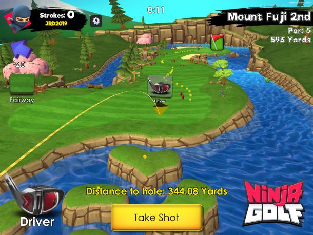 Ninja Golf   Striking