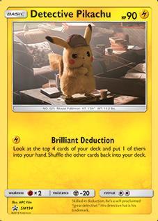Pokemon TCG   Detective Pikachu - Detective Pikachu