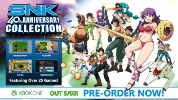 oprainfall | SNK 40th Anniv. Collection