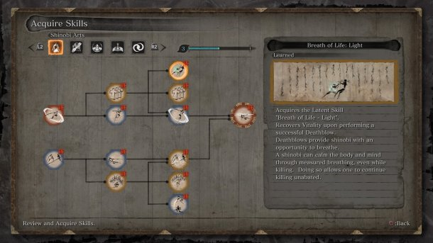 Sekiro | Skill Tree