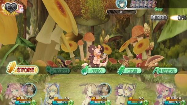 Moero Chronicle Hyper | Battle