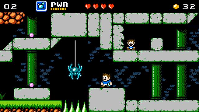 Venture Kid   Spider Jump