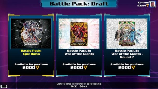 Yu Gi Oh! Link Evolution | Battle Packs