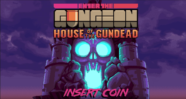 Enter the Gungeon: House of the Gundead | logo