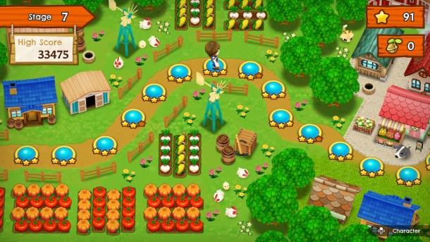 Harvest Moon: Mad Dash   Map
