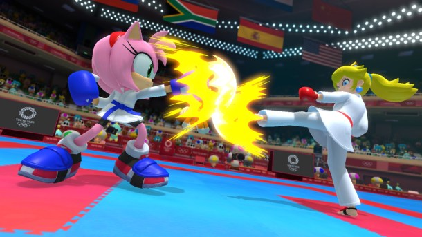Mario & Sonic At The Olympic Games: Tokyo 2020   Karate