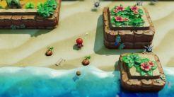 Zelda: Link's Awakening | Octorocks and Beach
