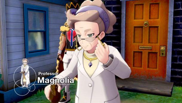 Pokémon Sword and Pokémon Shield | Prof Magnolia