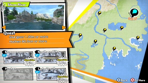 Reel Fishing: Road Trip Adventure | Locations