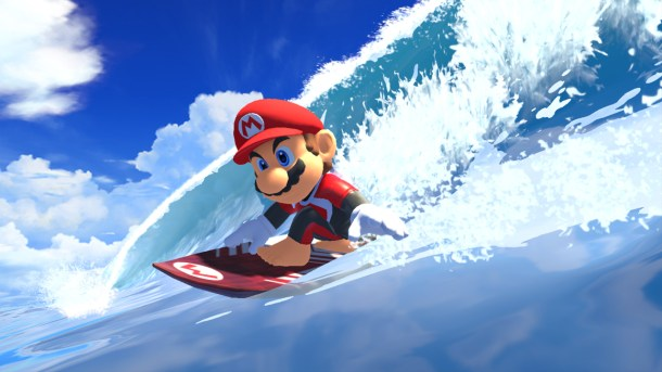 Mario & Sonic At The Olympic Games: Tokyo 2020 | Mario Surfing