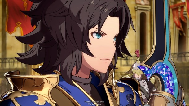 Granblue Fantasy Versus | Lancelot match intro