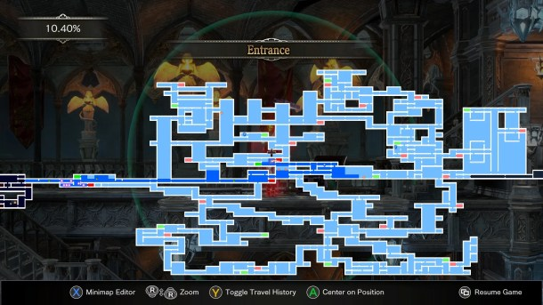 Bloodstained Ritual Map