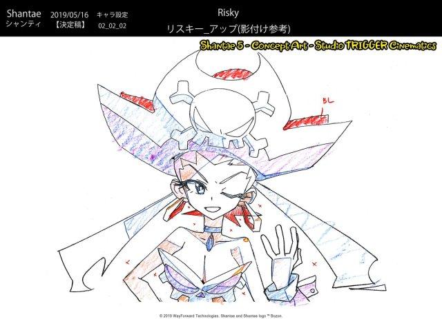 Shantae 5 | Risky Sketch