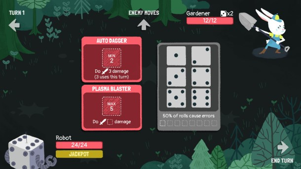 Dicey Dungeons | Bunny