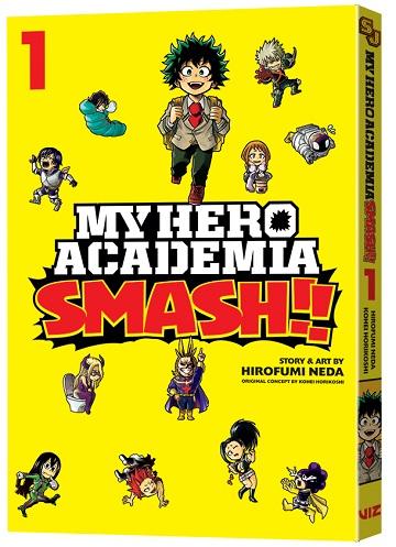 My Hero Academia Smash!! Via Viz
