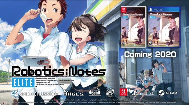 Spike Chunsoft | Robotics;Notes