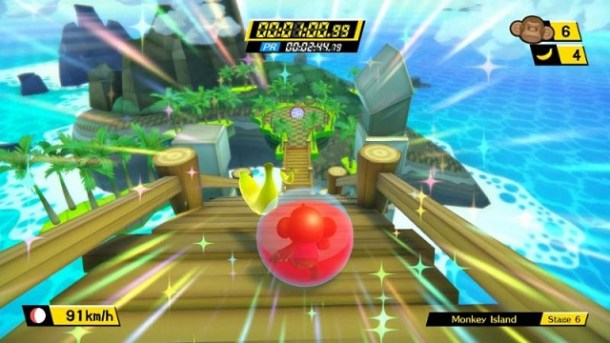Super Monkey Ball: Banana Blitz HD Screen