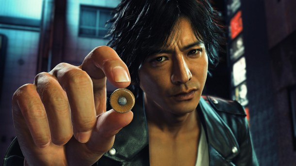 Judgment   Yagami's attorney badge
