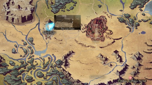 Oninaki | World Map
