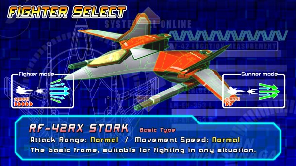 Rolling Gunner   Fighter Select