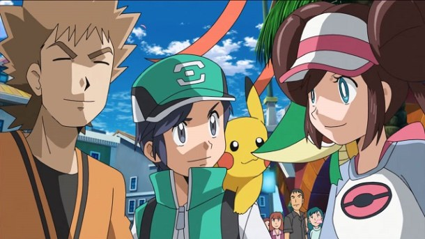 Pokemon Masters Trainers