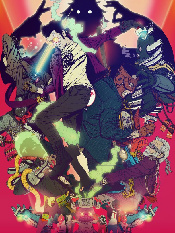 Travis Strikes Again: No More Heroes | Key Art