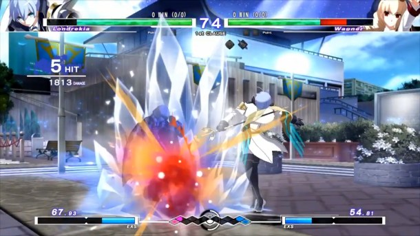 Under Night In-Birth Exe:Late[cl-r] | Londrekia vs Wagner