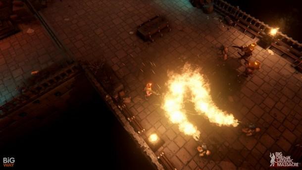 Big Drunk Satanic Massacre | Flamethrower
