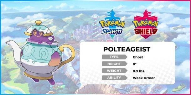 Pokemon Sword and Shield | Polteageist