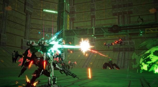 Daemon X Machina | Grounded Combat