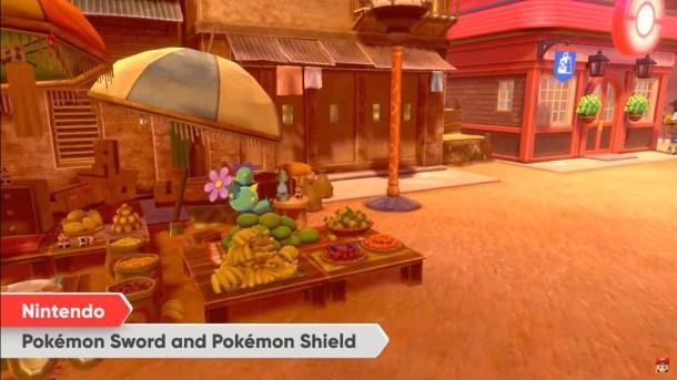 Pokemon Sword and Shield | Maractus Market