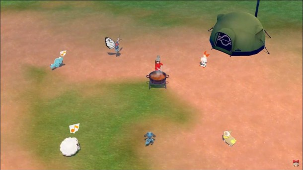 Pokemon Sword and Shield | Camping